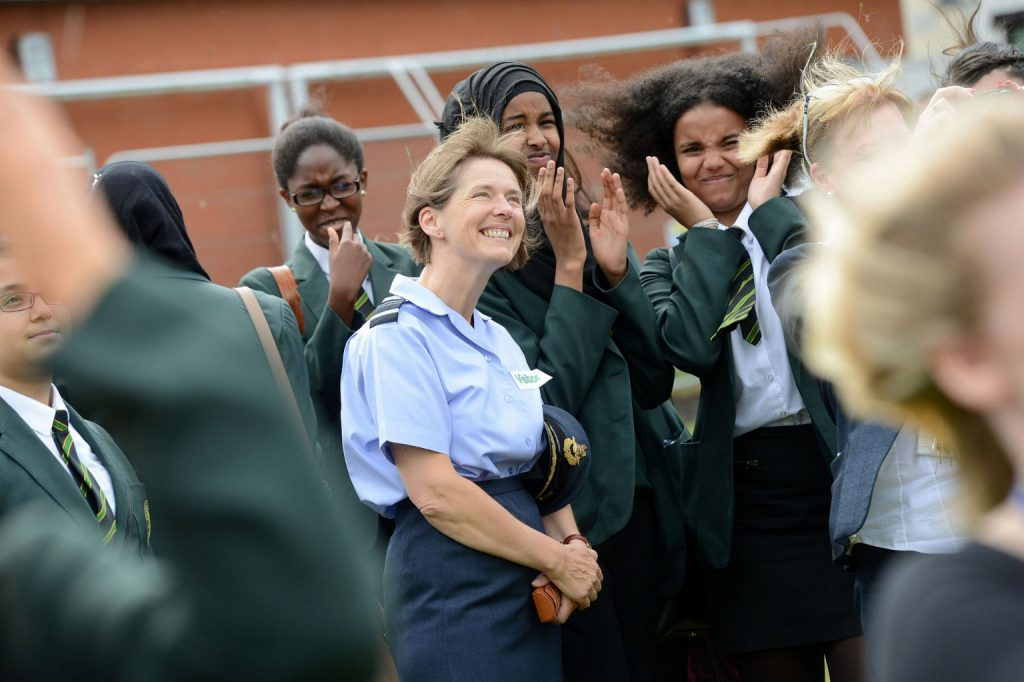 RAF inspiring women