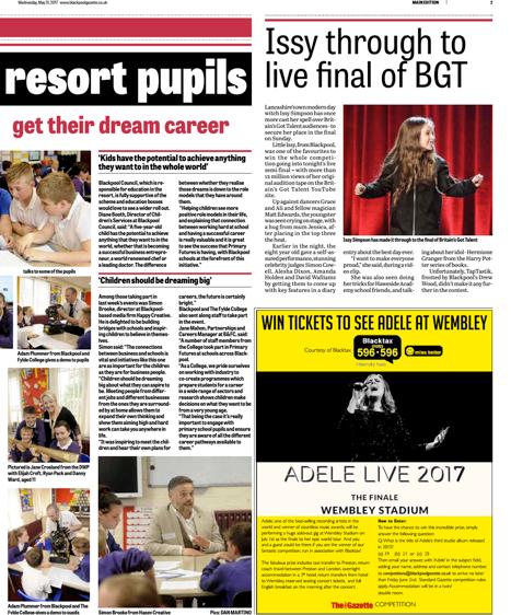 Blackpool Aspirations Week: Monday 22nd May – Friday 26th May 2017