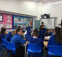 Career Footsteps at Arnold Mill Primary School