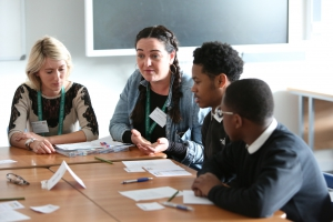 Inspiring Apprenticeships event at Eastbrook School, Dagenham during National Apprenticeship week