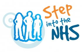 Step into the NHS logo