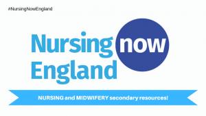 Nursing Now England logo