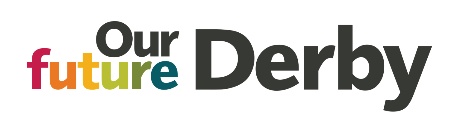 Our Future Derby logo